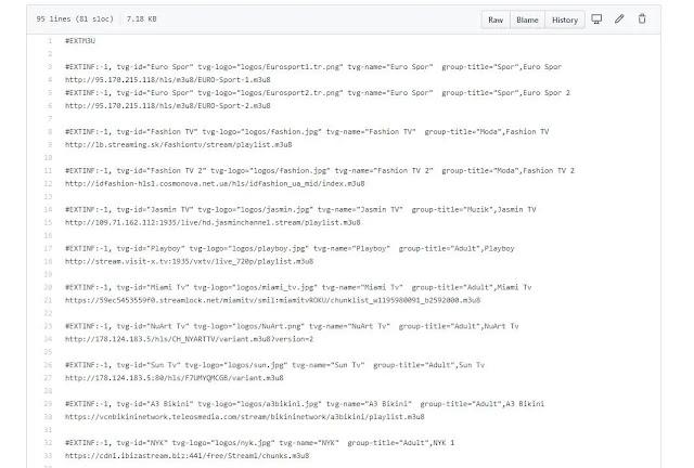 Web player iptv download php script