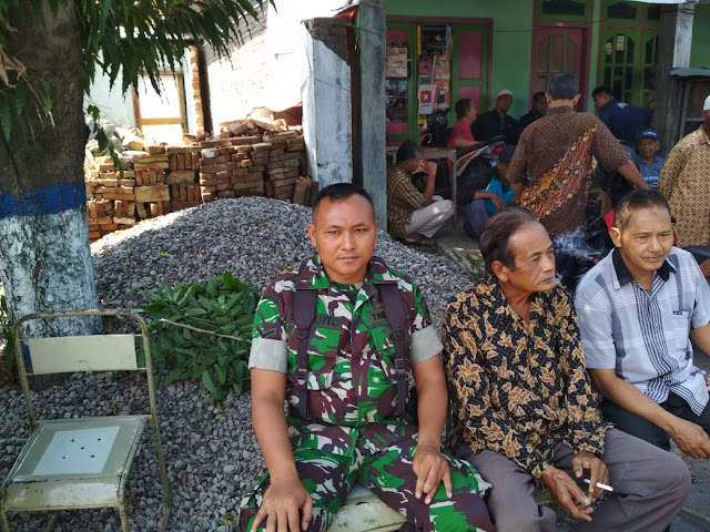 Kodim Karanganyar - Bela Sungkawa Sebagai Wujud Empati dan Kedekatan TNI Dengan Rakyat