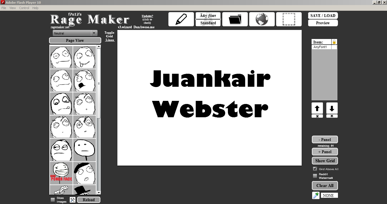 Download Rage Maker Beserta Image Pack | Juankair Webster