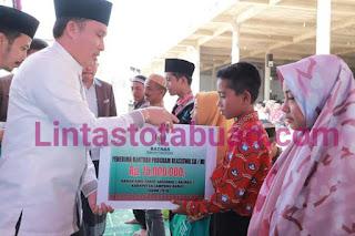 Bupati Lampung Barat Hadiri Pengajian Dalam Rangka Peringatan Hari Santri