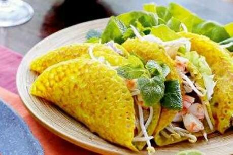 Banh Xeo Makanan Khas Negara Vietnam Cara Membuat Banh Xeo