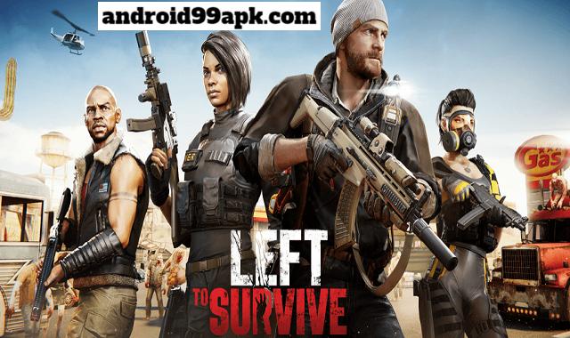 لعبة Left to Survive v4.0.0 مهكرة كاملة (بحجم 629 MB) للأندرويد