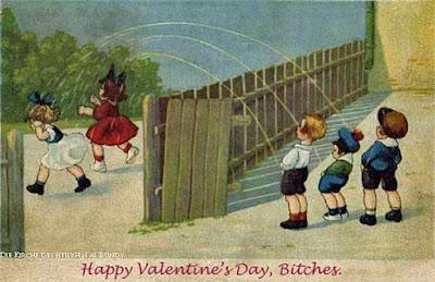 Witzige Valentinstags-Karte Spassbilder