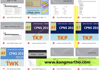baik yang berupa file word maupun pdf banyak dibutuhkan oleh semu kalangan terutama yang  √  Download Soal CPNS 2020 dan Pembahasan