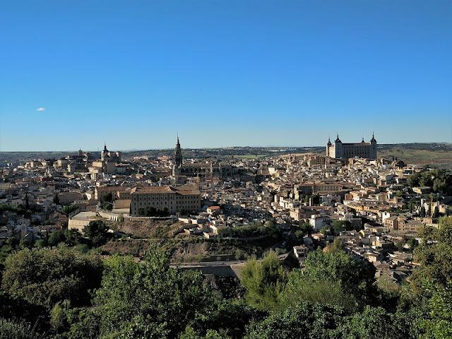 Toledo - Vista panorámica desde el Parador Nacional