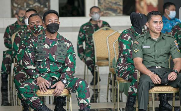 KSAD Jenderal Andika Ungkap Asal Usul Nama Baru Serda Aprilio Perkasa Manganang