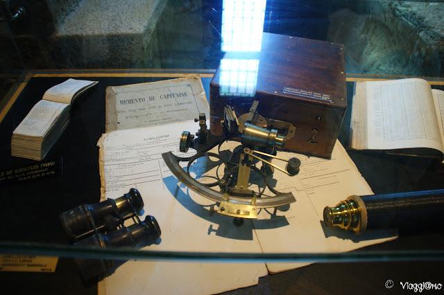 Oggetti ospitati all'interno del Museo nella Tour Solidor