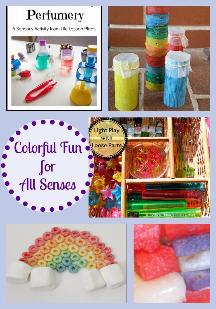 Mom's Library with Colorful Fun for all the Senses