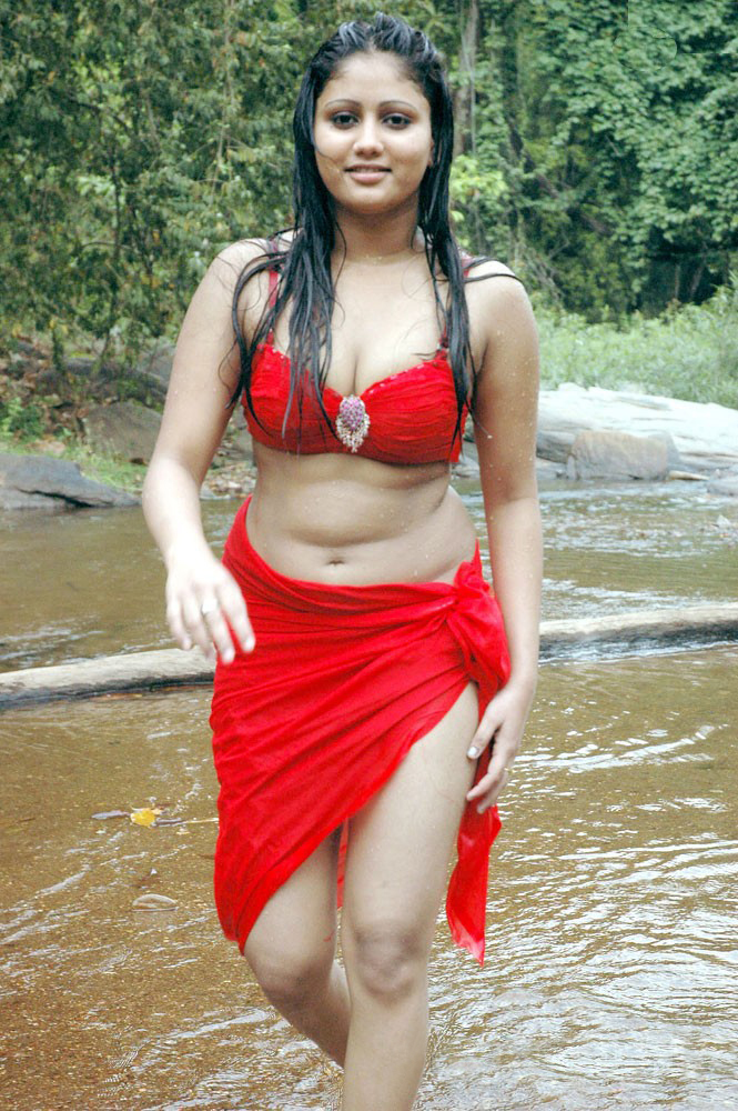 Amrutha Vali Bikini Setting Fire In The River