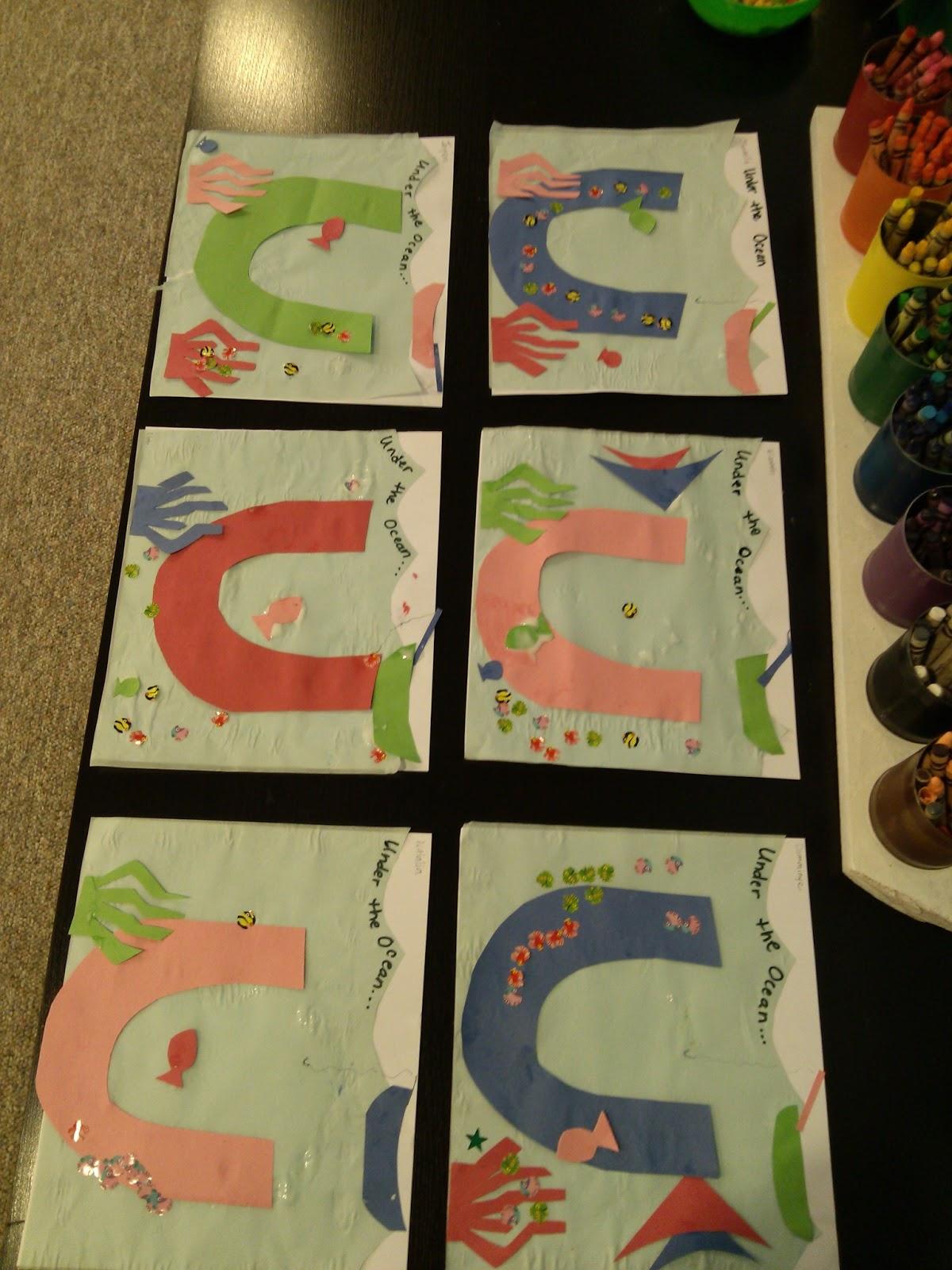 Preschool Fun Letter U Preschool Crafts And Activities