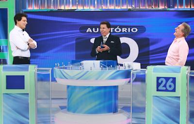 Celso, Silvio e Otávio (Foto: Roberto Nemanis/SBT)