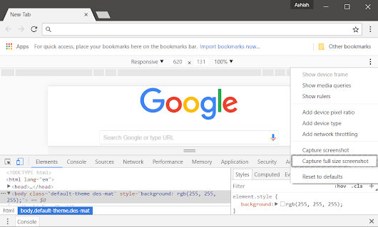 How to Take a Screenshot of a Whole Webpage in Chrome & Firefox