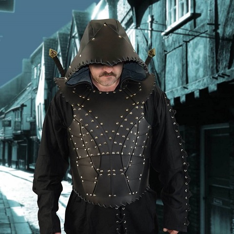 http://www.museumreplicas.com/p-2654-dark-rogue-leather-armor-with-hood.aspx