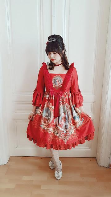 l'armoire de versailles, lucky pack, lolita fashion, jfashion, auris lothol