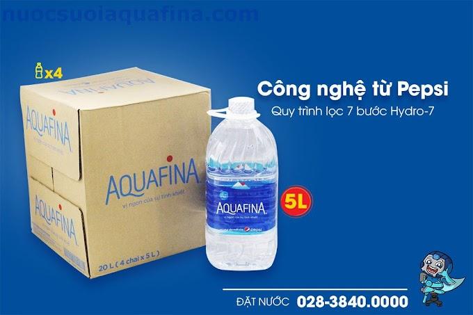 Nước Tinh Khiết Aquafina Chai 5L