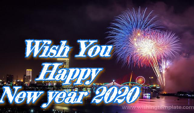 Wish You Happy New Year 2020