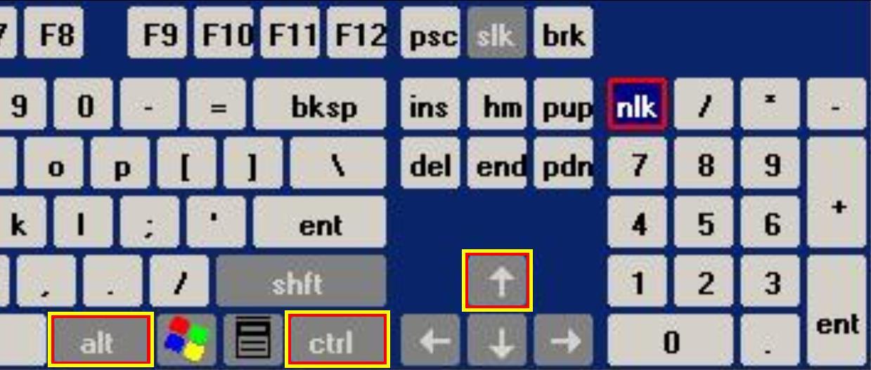 how to turn screen keyboard shortcut