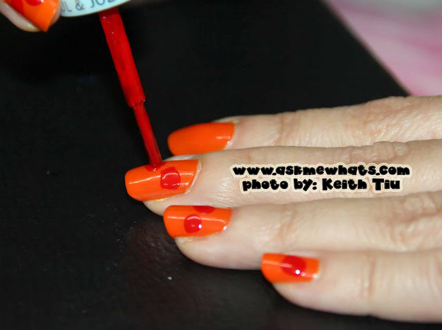 a photo of Chinese New Year Nail Art