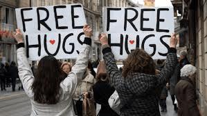 Free Hug - an instant healer!