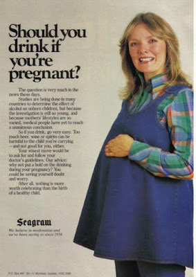 Seagram - Should you drink if you are pregnant?