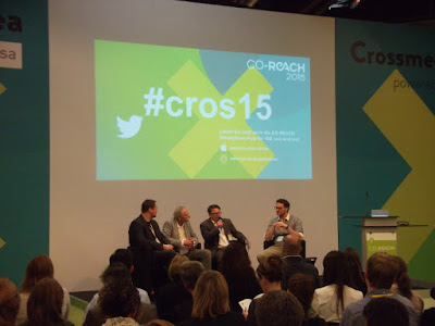 Podiumsdiskussion auf der Co-Reach 2015.