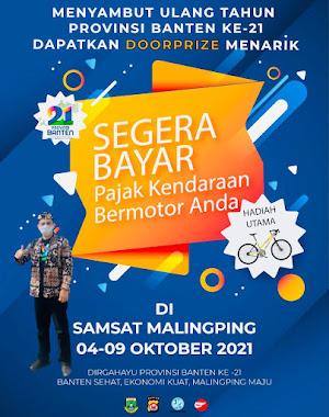 Samsat Malingping untuk HUT Banten ke 21
