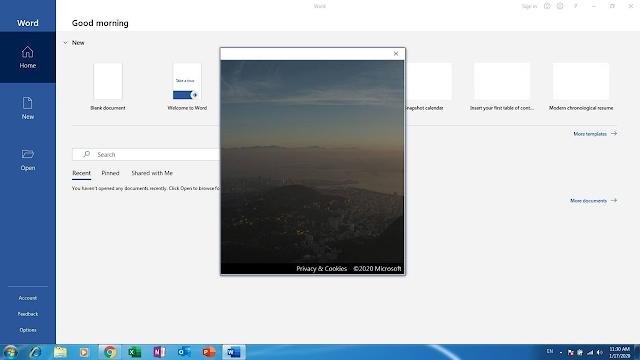 Office 365 bị lỗi màn hình đăng nhập