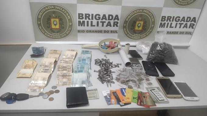 Preso em Gravataí dá a dica e BM realiza prisão em Cachoeirinha