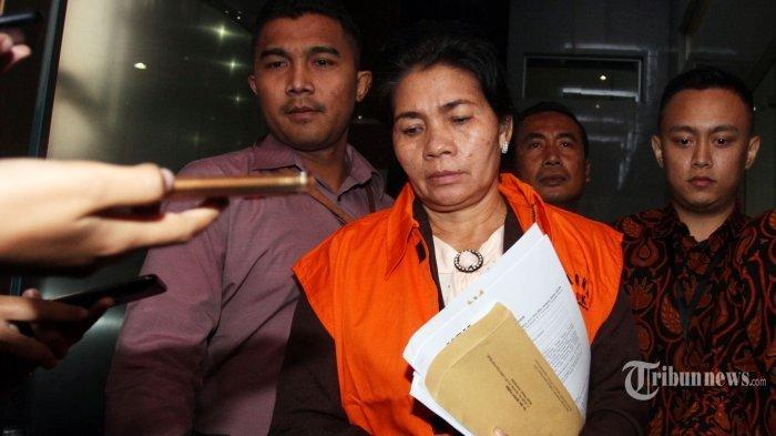 Dua Tersangka kasus Suap, Merry anggota Hakim PN Medan Segera Disidang