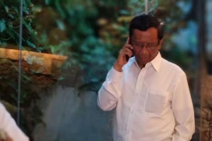 Mahfud MD Ngaku Tersinggung Dengan Ucapan Rommy Soal Bikin Baju Buat Cawapres