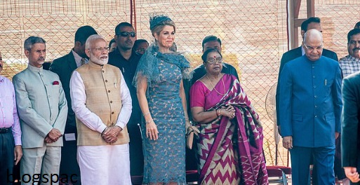 photo-of-the-first-lady-of-india-with-queen-maxima-modi