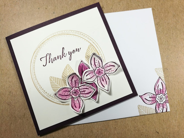 Simple stamped cards with Jenny ftrom Jemini Crafts