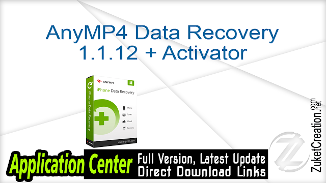 AnyMP4 Data Recovery 1.1.12 + Activator