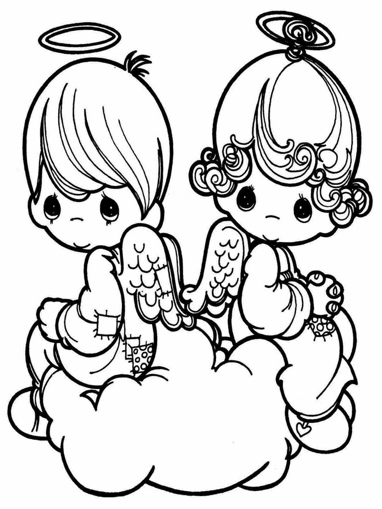 Kids Valentine Coloring Pages