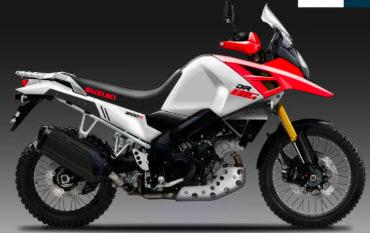 Suzuki Siapkan Motor Petualang Penantang Honda Africa Twin