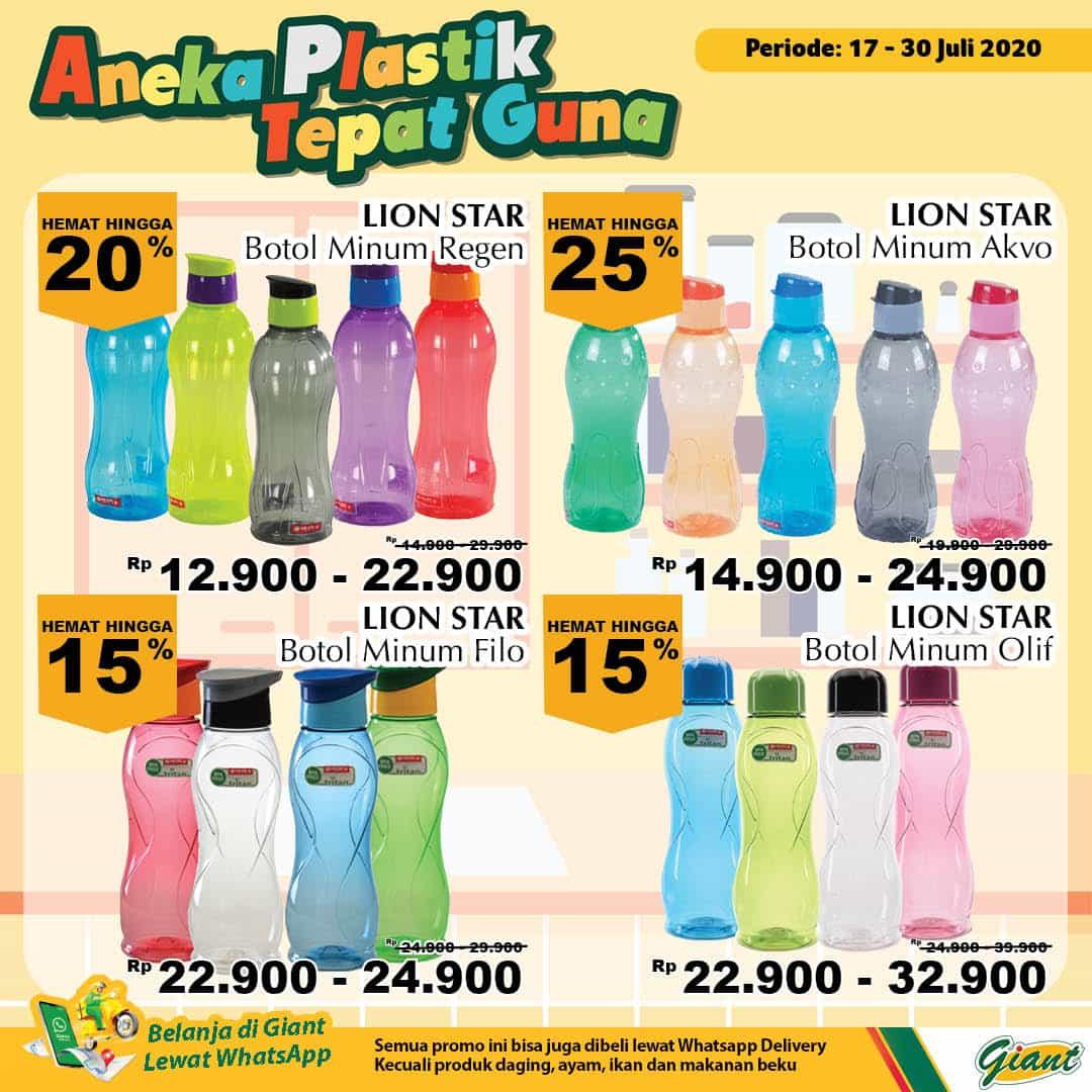 Giant GMS Promo Aneka Plastik Tepat Guna Periode 17 - 30 Juli 2020 4
