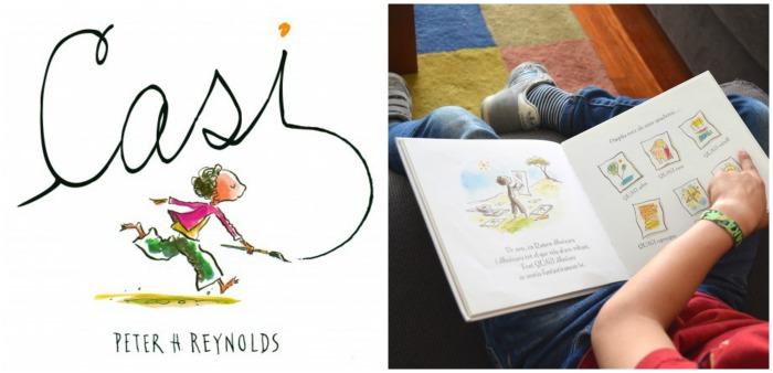cuento aumentar autoestima infantil: casi de Peter H. Reynolds