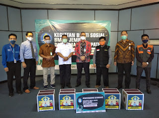 BMPD Percayakan PMI Salurkan Bantuan Untuk Masyarakat Terdampak Covid-19