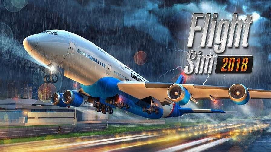 Flight Sim 2018 Mod Apk + Data Download Unlimited Money v1 ...