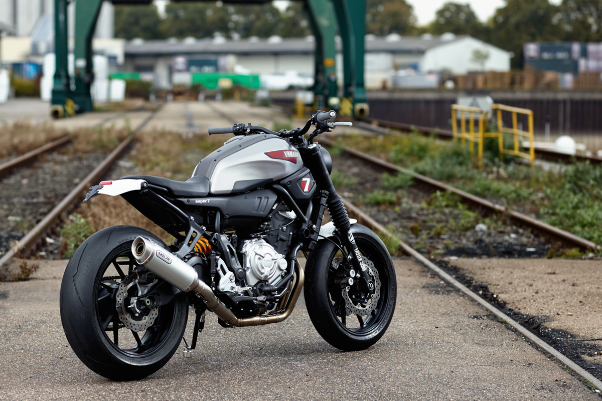 YAMAHA XSR700 Super 7 By JvB MOTO