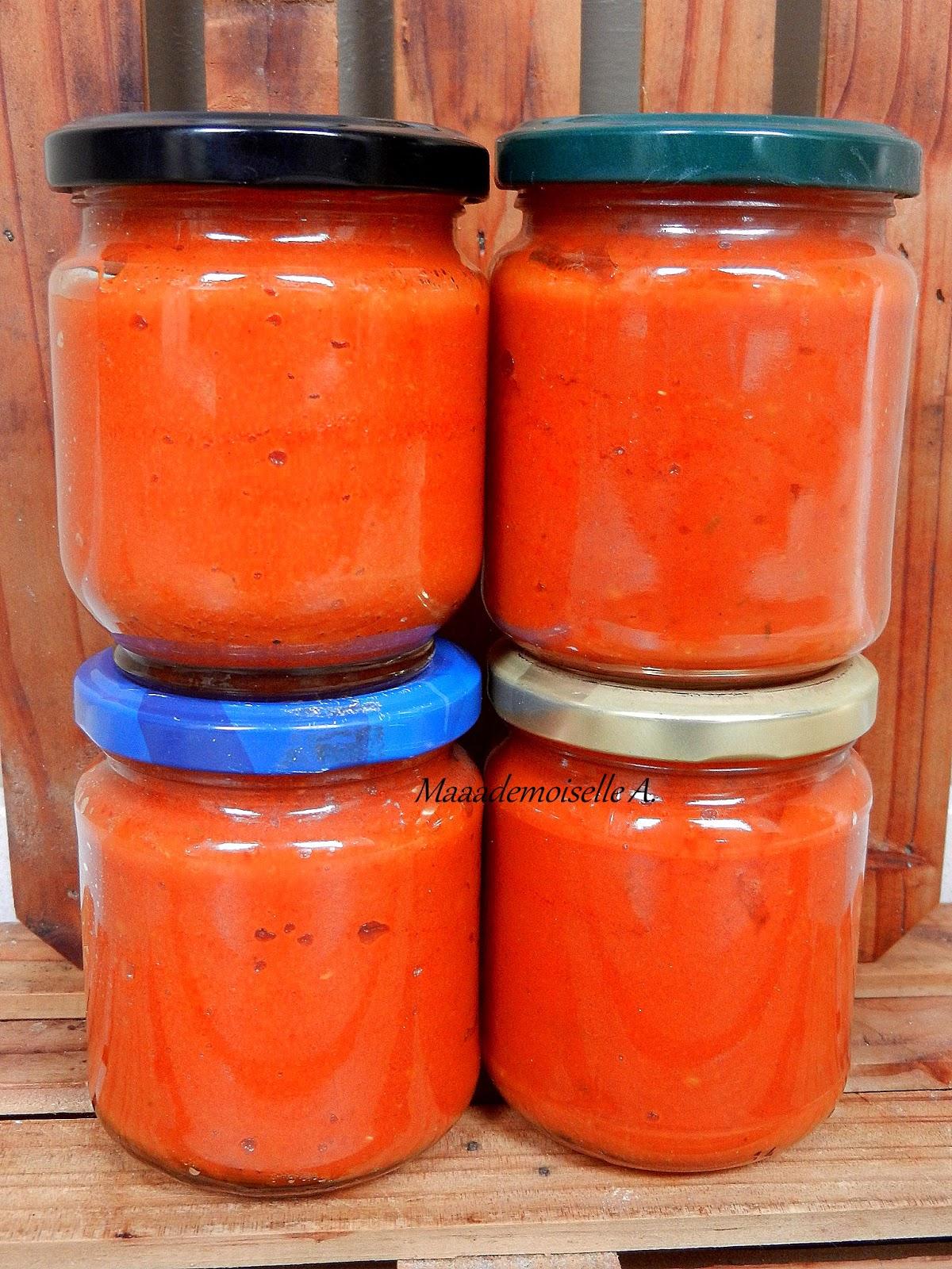 Sauce Tomate Maison Conservation Sans Sterilisation : sauce, tomate, maison, conservation, sterilisation, Maaademoiselle, Sauce, Tomate, Maison, Conservation, Bocaux
