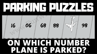 Can you solve this logical reasoning parking puzzles?