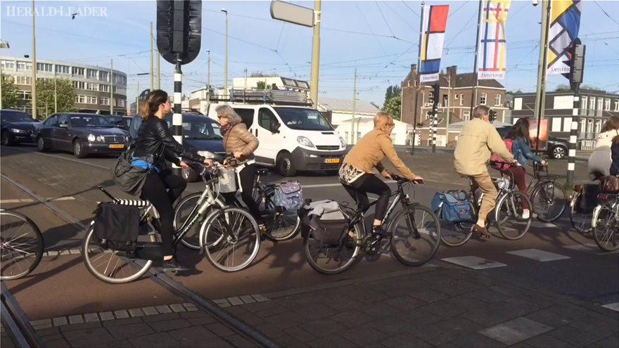 Ολλανδία: Χρηματική ανταμοιβή για όσους πηγαίνουν στη δουλειά με το ποδήλατο, σχεδιάζει η κυβέρνηση