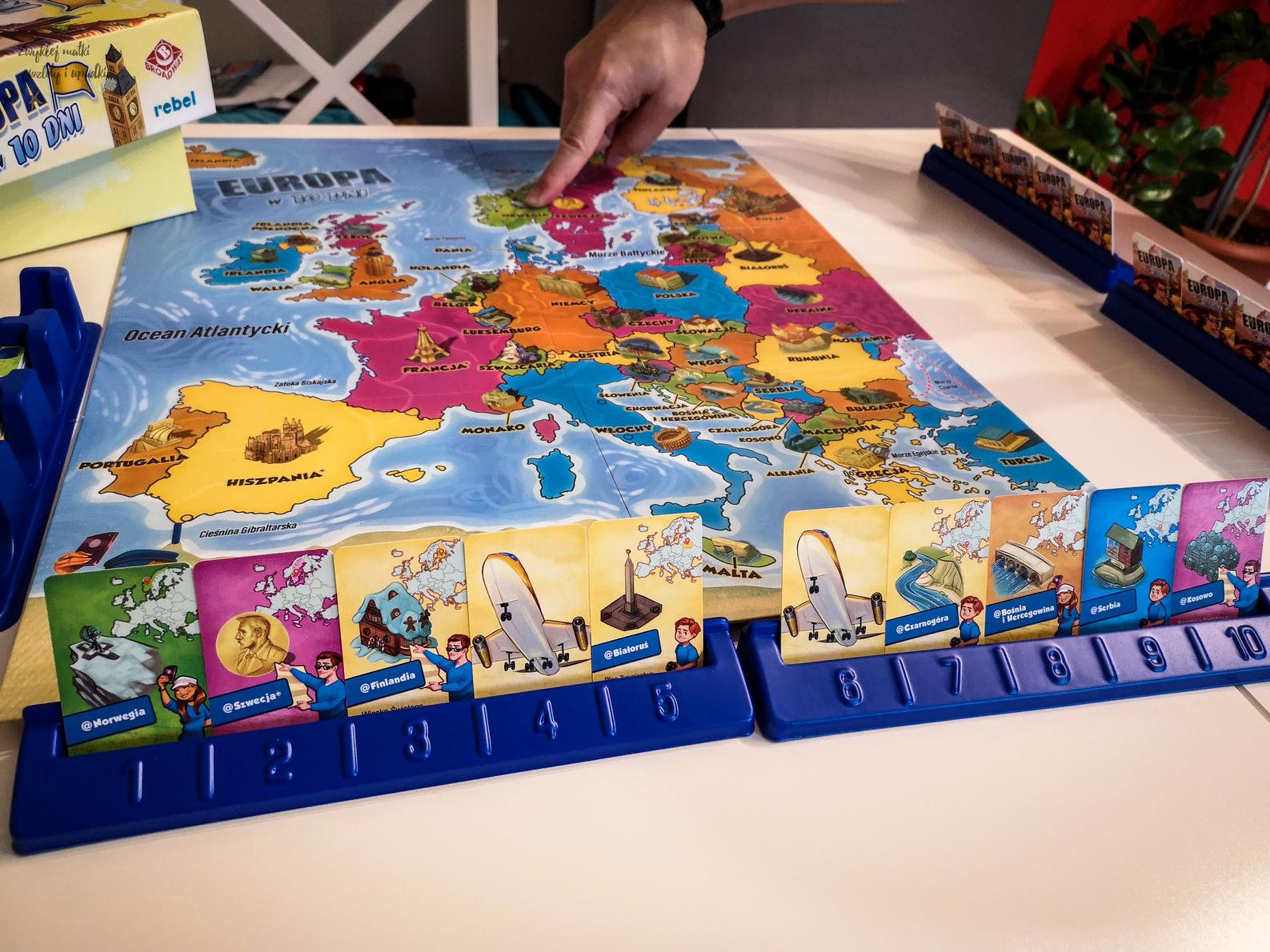 Sposób na jesień, czyli pograjmy razem, Europa w 10 dni