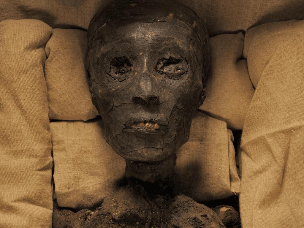 Mumia Tutankhamun