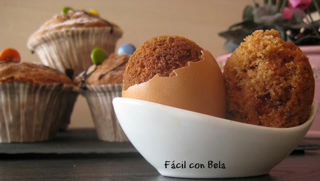 Recetas f cil con bela bizcocho de chocolate y nueces en c scara de huevo con video receta - Cascara nueces para decorar ...