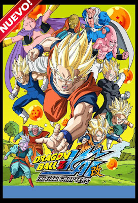 Dragon Ball Z Kai The Final Chapters (TV Series) Completa CUSTOMHD DUAL LATINO NO SUB 7XDVD