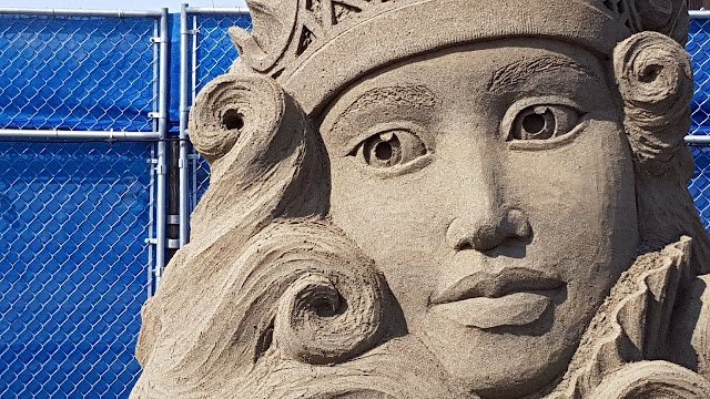 Entry in the Parksville BC sand sculpture competition...