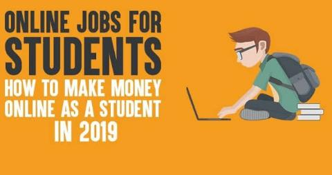 HOW TO MAKE MONEY FOR STUDENTS ONLINE