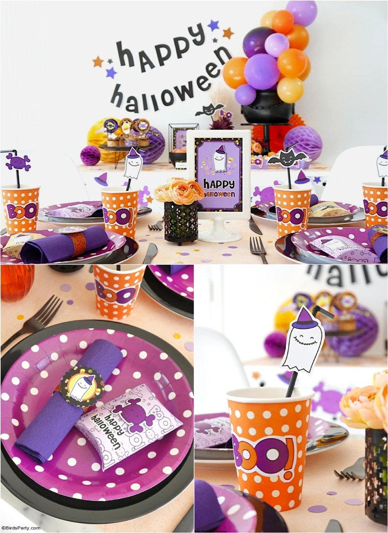 Notre Jolie fête d'Halloween DIY - des idées pas si effrayantes, rapides, faciles et économiques pour organiser une fête d'Halloween à la maison!